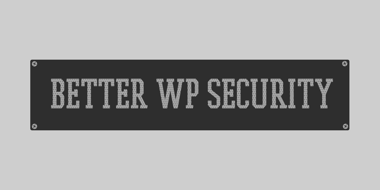 Better WP Security Header