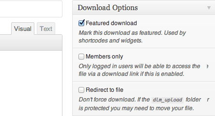 Add special metadata just for downloads