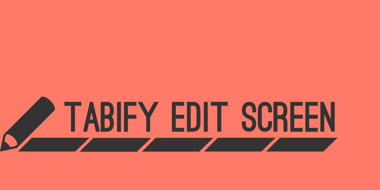 Tabify Edit Screen Plugin