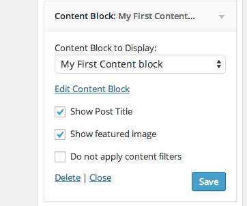 Add custom content blocks to WordPress