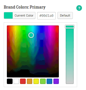 Kirki comes with the ability to add several different options, including a color picker.