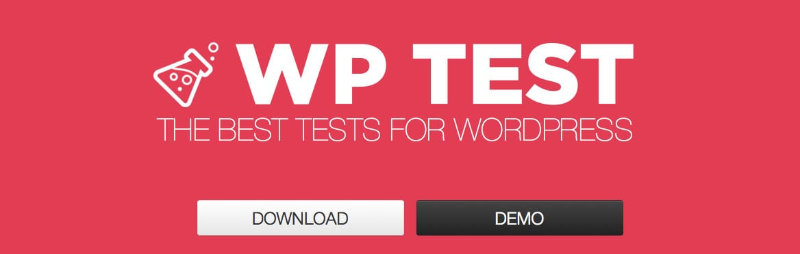 WP Test scaffolds a full test site in minutes