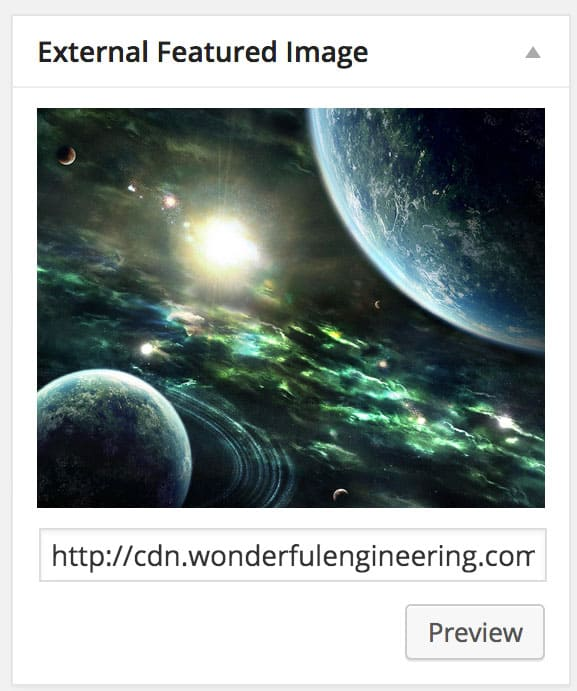 External Featured Image Plugin