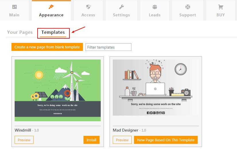 ucp-templates