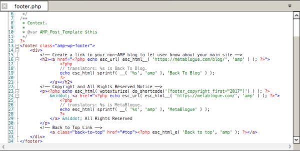 Codelobster IDE footer