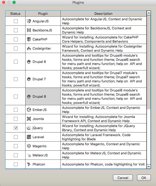 Codelobster IDE plugins