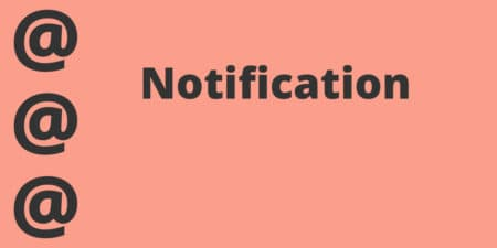 Notification WordPress plugin