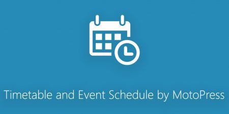 Timetable and Event Schedule by MotoPress