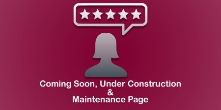 Nifty Coming Soon, Under Construction & Maintenance Page