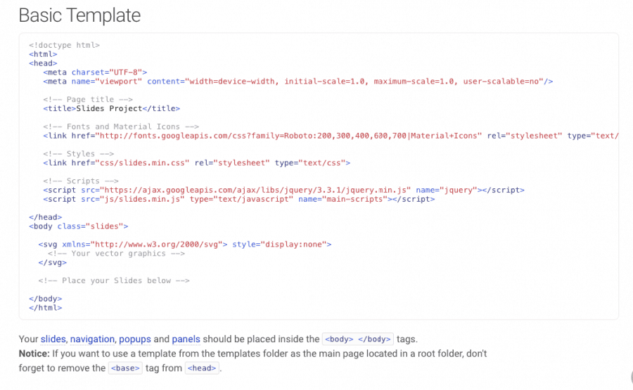 Slides Designmodo HTML