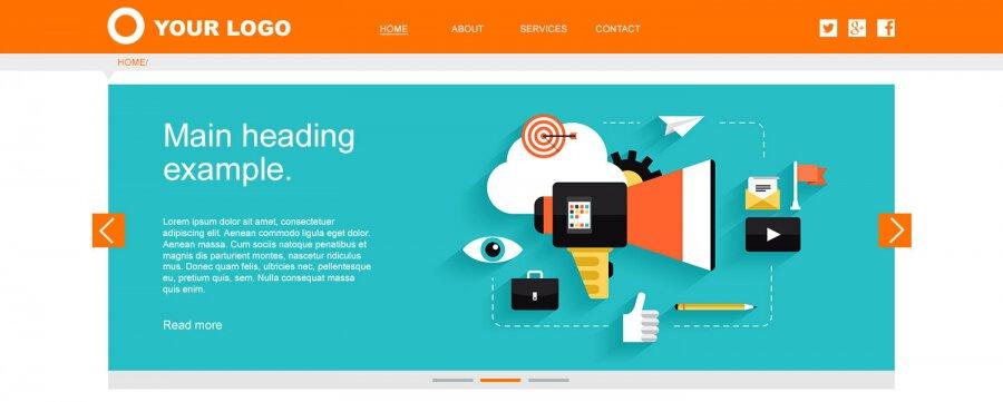 Website Navigation layout