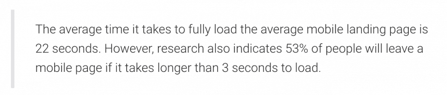 Google Speed Research