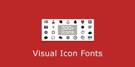Visual Icon Fonts