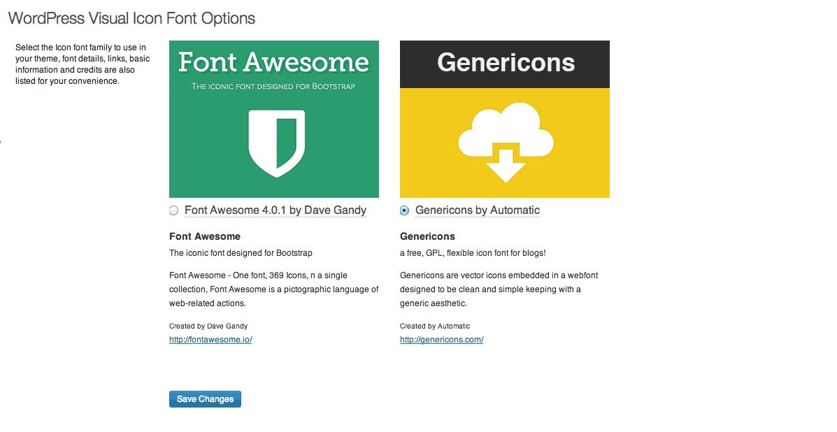 Visual Icon Fonts - Make Your WordPress Blog Posts More Vibrant