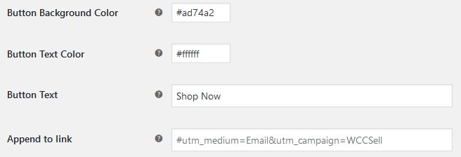 Customize your link button if you want it to stand out from the regular theme