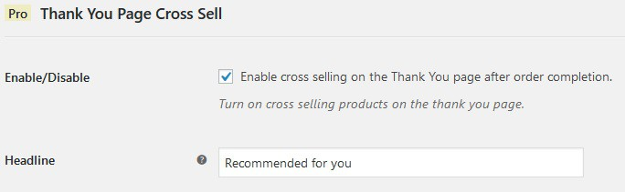 Go one step further giving recommendations right after the purchase