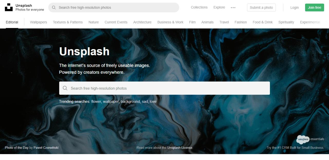 Unsplash Free Images