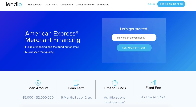 Lendio American Express Financing