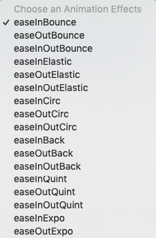 Ease in Animations 1