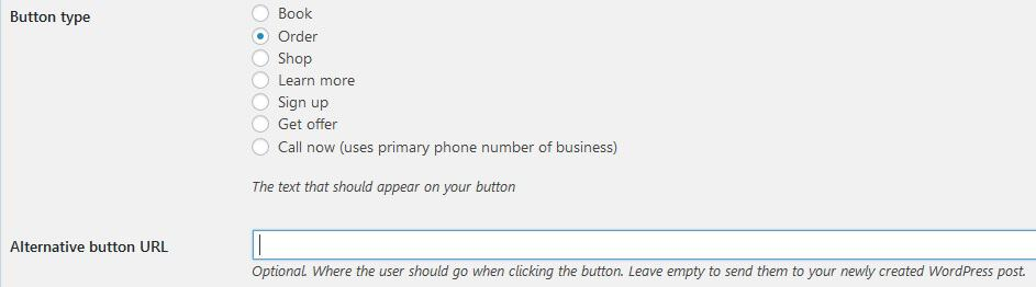 Add buttons as a call to action substitute