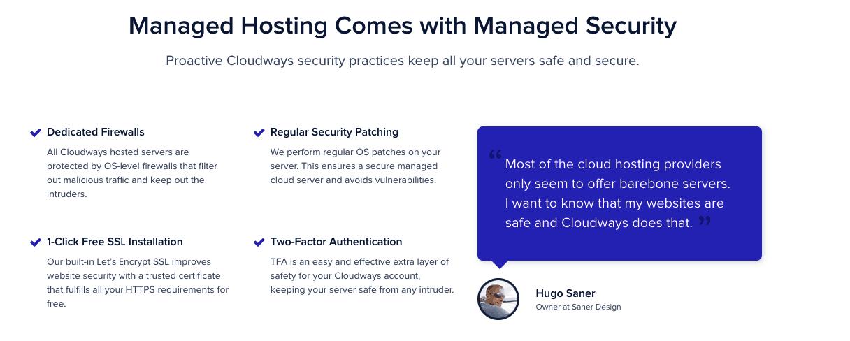 Security Cloudways