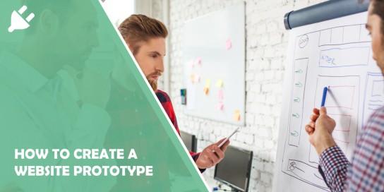 create website prototype