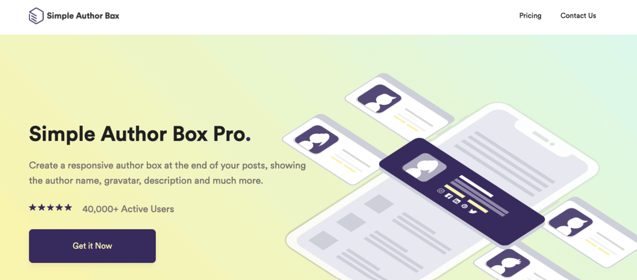 Simple Author Box Pro