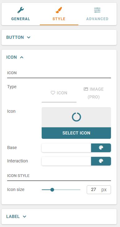 Buttonizer button icon