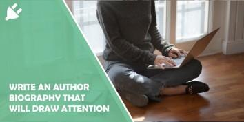 Write an author bio