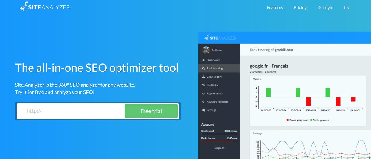 SiteAnalyzer
