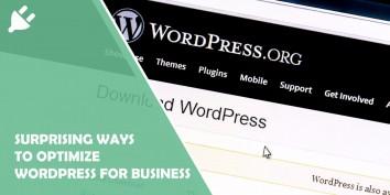 10 Surprising Ways to Optimize Wordpress for Business