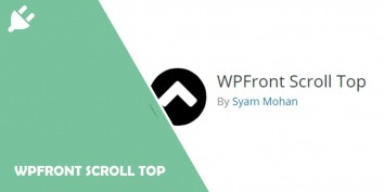 WPFront Scroll Top
