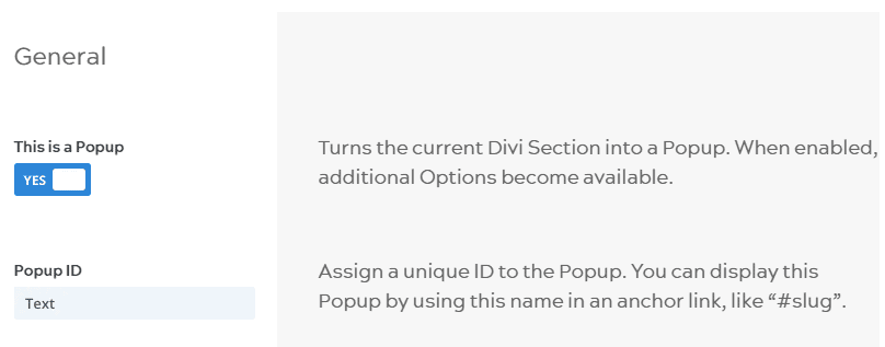 Popups for Divi this is a popup option
