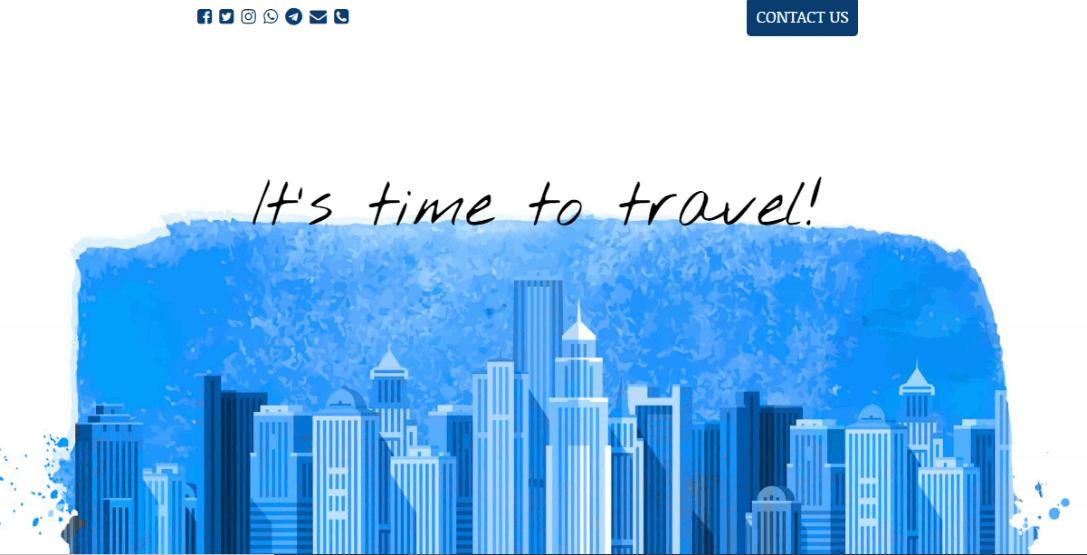 UnderConstructionPage travel blog template 1