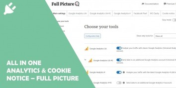 All in One Analytics & Cookie Notice – Full Picture
