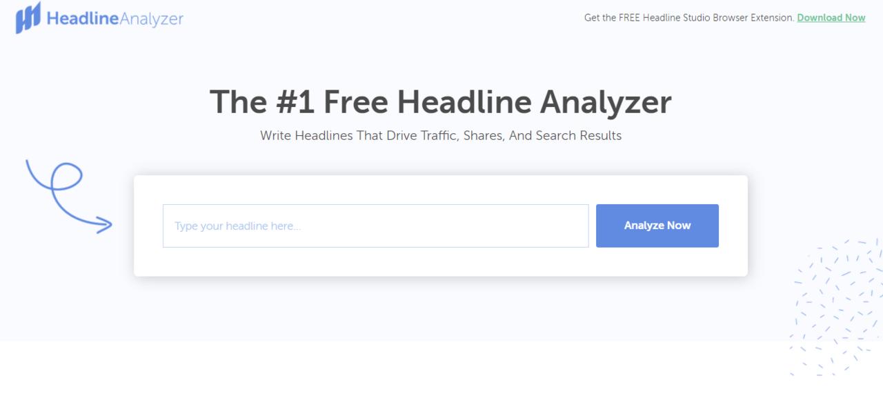 Headline Analyzer From CoSchedule