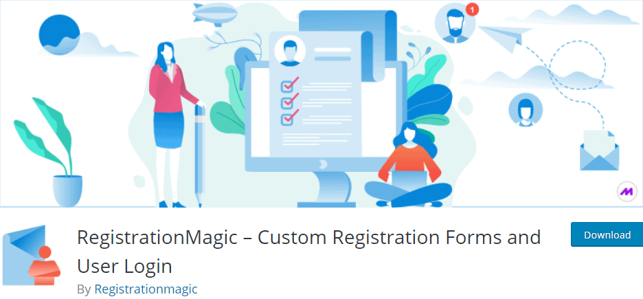 RegistrationMagic – Custom Registration Forms and User Login