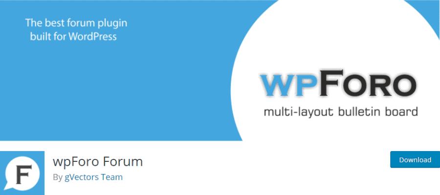 wpForo Forum banner