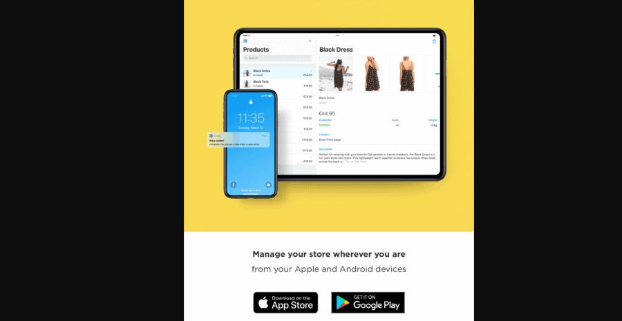Ecwid Ecommerce Shopping Cart mobile app