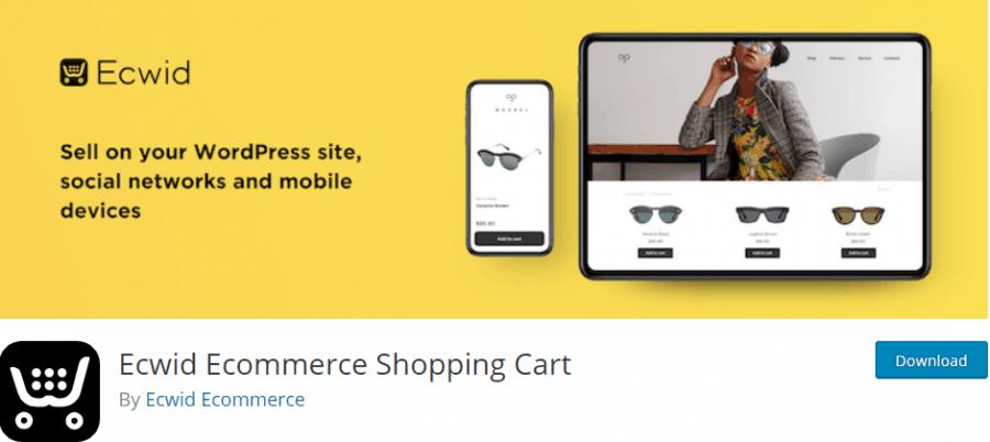 Ecwid Ecommerce Shopping Cart