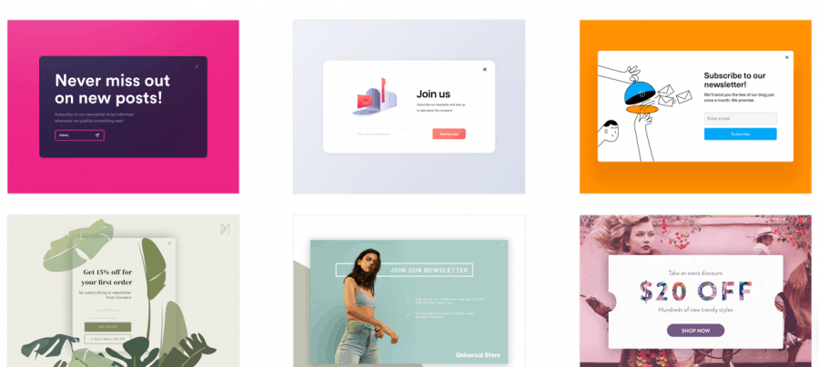 Mailmunch templates