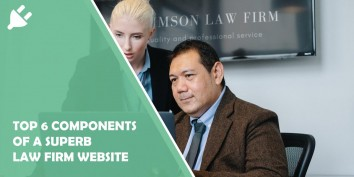 Top 6 Components of a Superb Law Firm Website