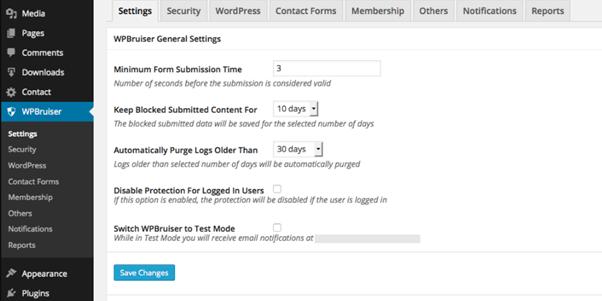 Features WPBruiser
